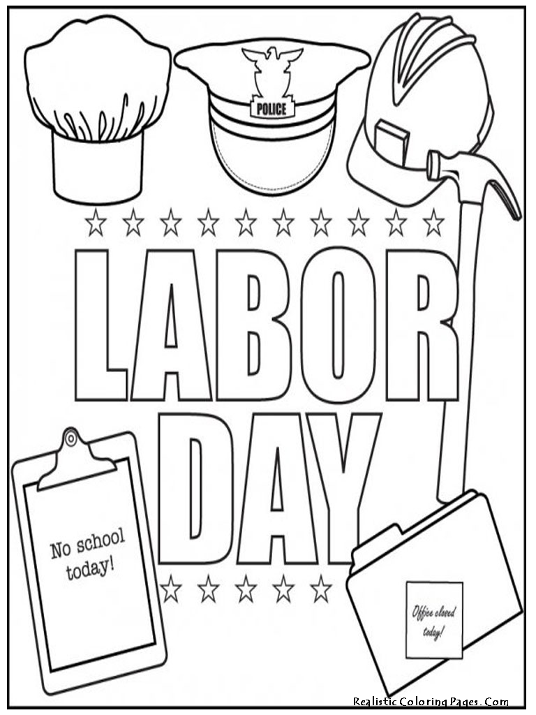 Labor day coloring pages for kids preschool and kindergarten Coloring book for kinder