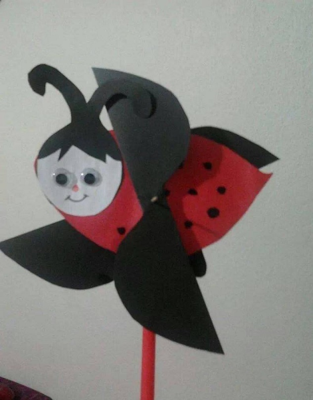 Ladybug Sticks Craft Idea For Preschool on kindergarten homework printable