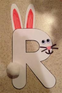 letter R crafts