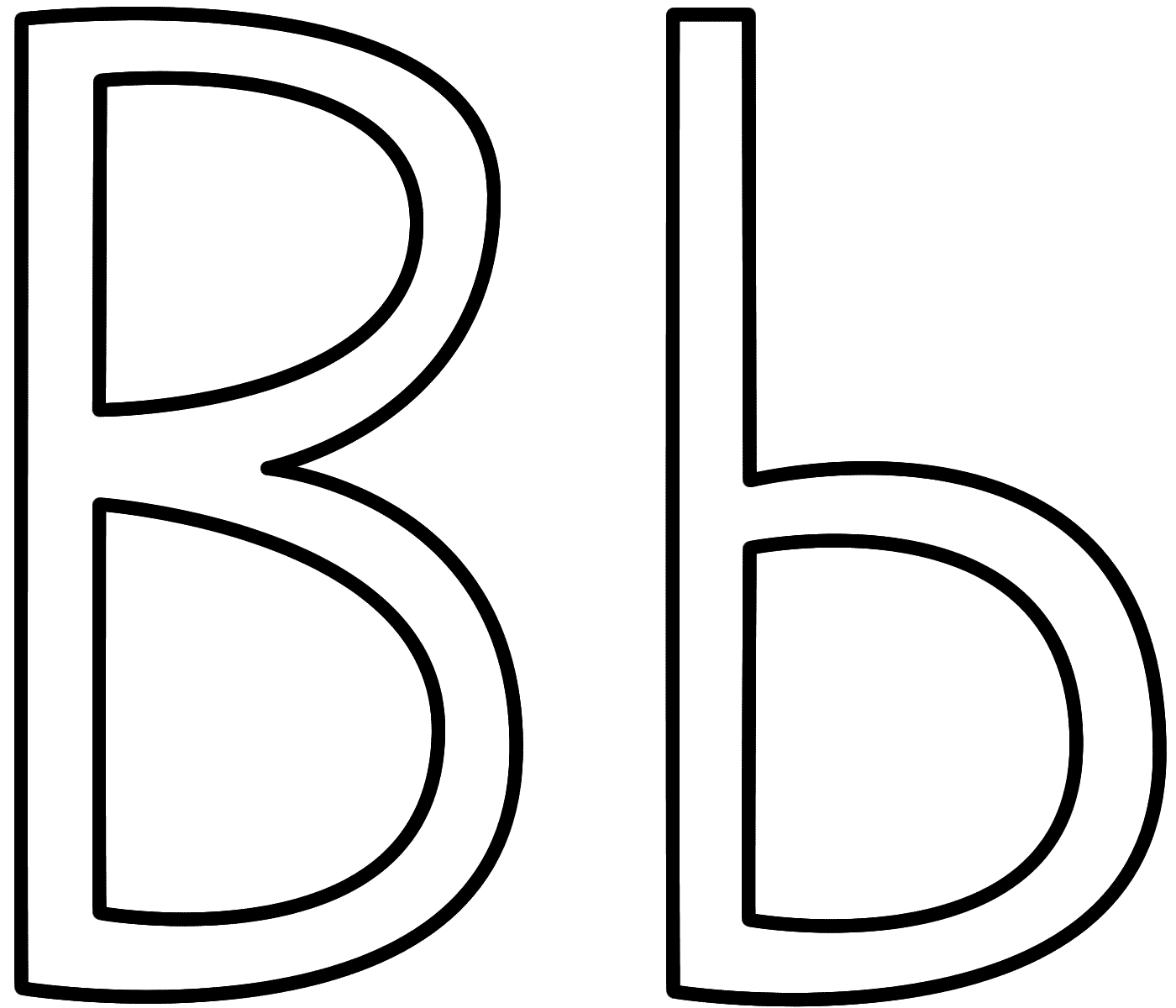 letter-b-pictures-big and small