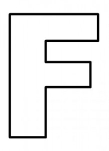 letter f coloring pages,