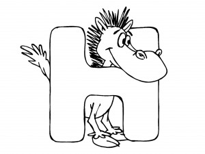 letter-h-colouring