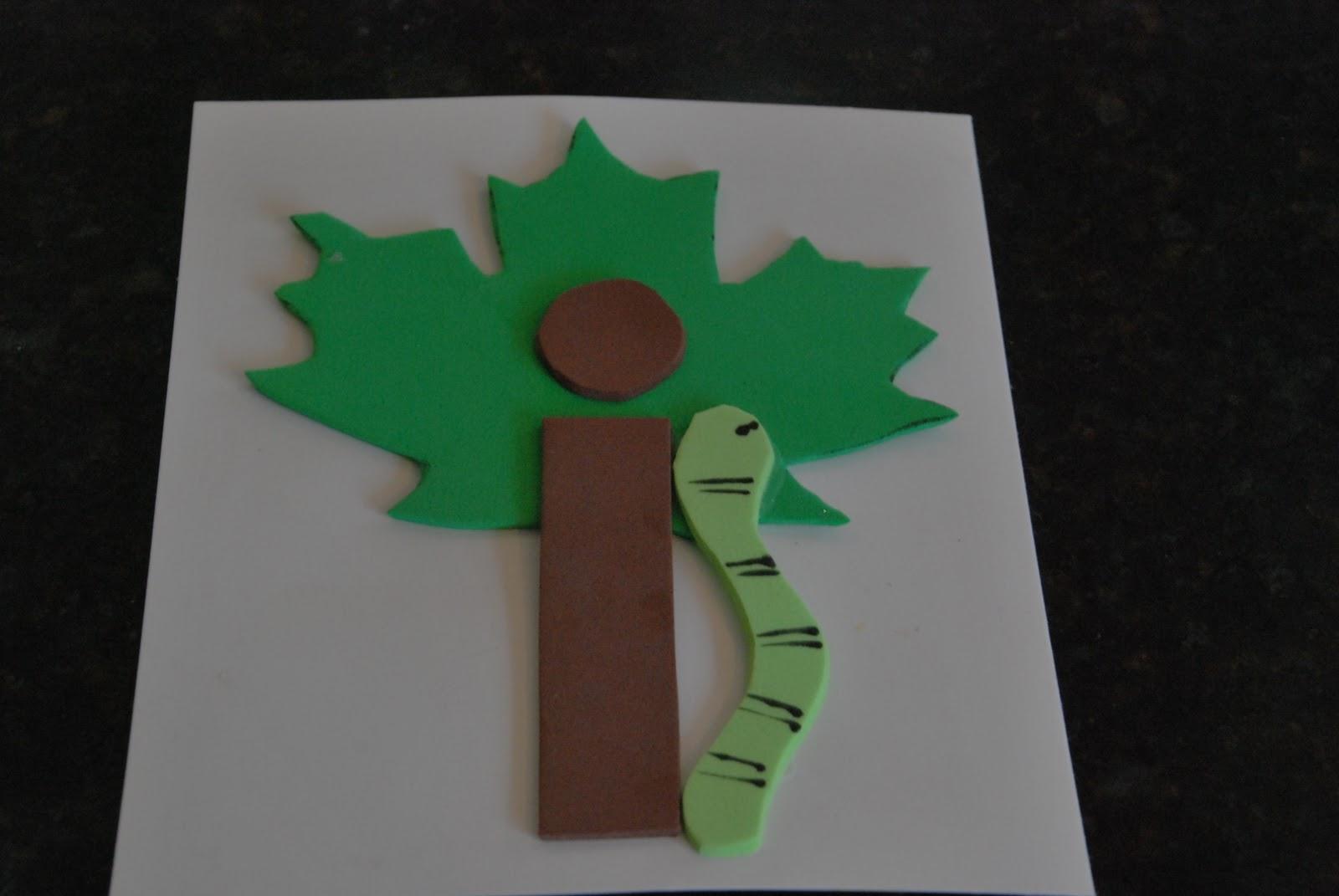 Inchworm Craft For Preschool