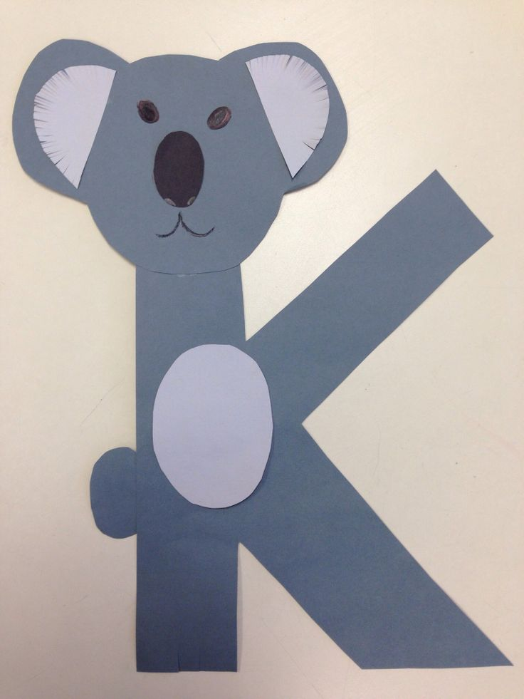 letter k crafts preschool and kindergarten