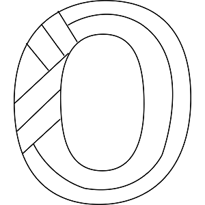 letter o-coloring pages-for preschool