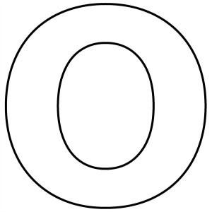 letter o-coloring-pages for preschool