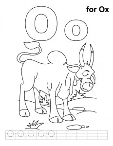 letter-o coloring pages for preschool