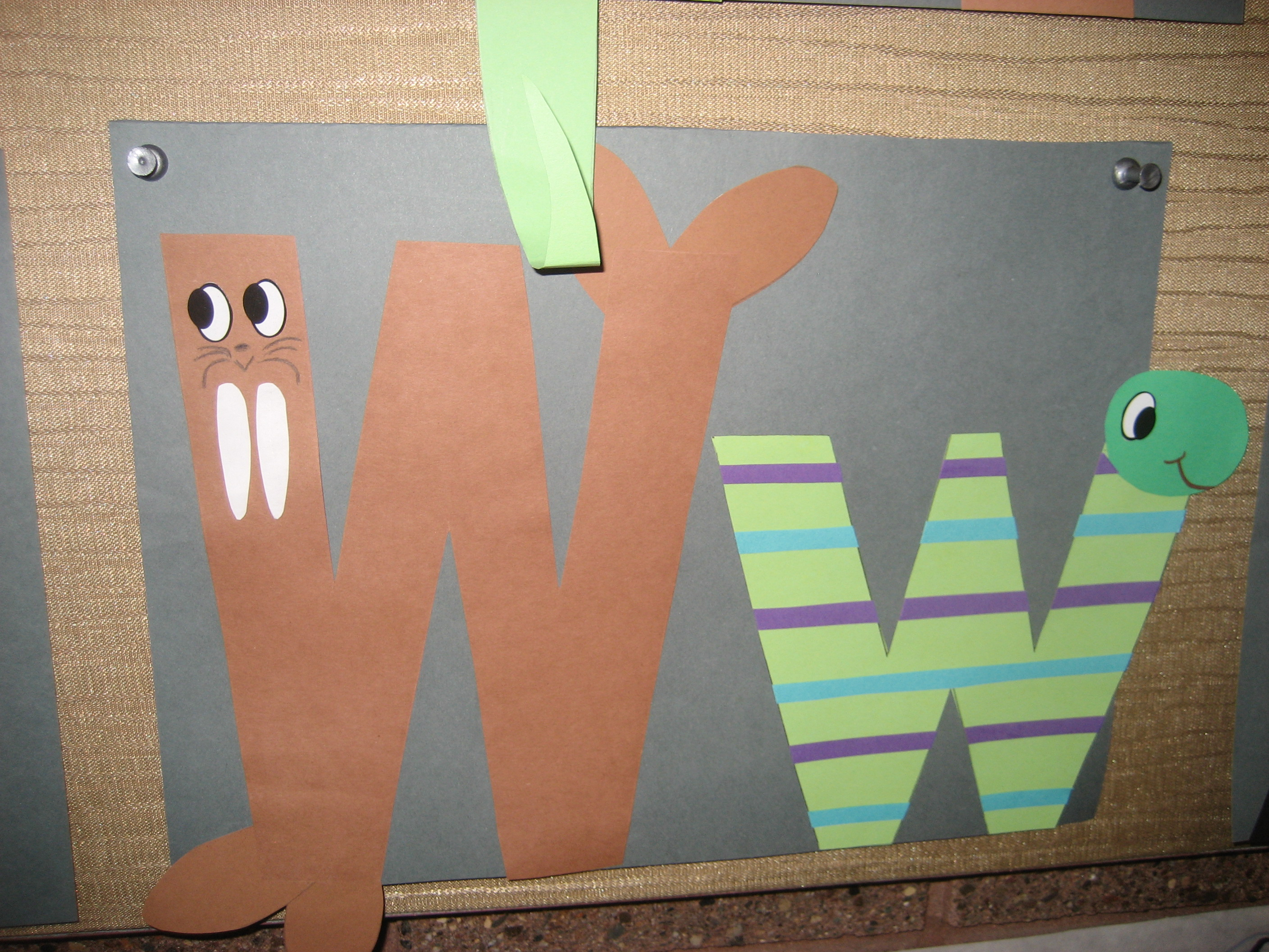 Letter W Crafts Crafting