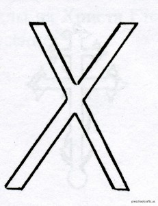letter x coloring pagess