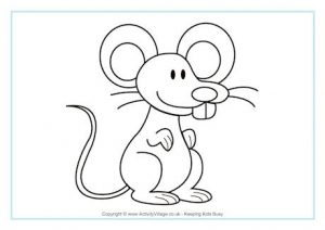 mouse_colouring_pages
