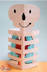 my body crafts idea for kids