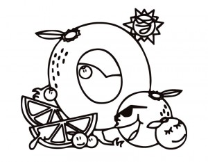 o letter o coloring pages for kids, letter o coloring pages for preschool,