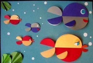 fish paper folding activities for preschool