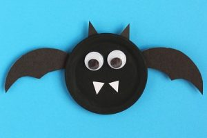 paper plate bat craft ideas