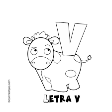 preschool alphabet letter v coloring pages worksheets
