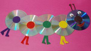 preschool caterpillar crafts from CD