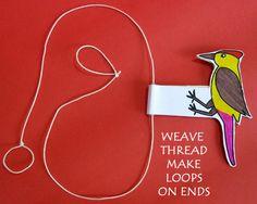 preschoolWoodpecker crafts