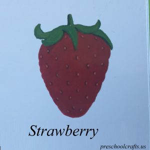 strawberry picture for kids