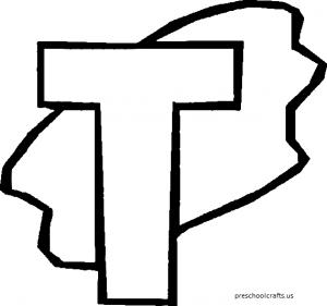 t coloring pages, letter t coloring pages, letter t, alphabet coloring pages