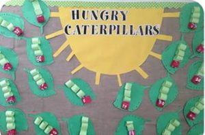 very hungry caterpillars craft idea