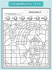worksheet-language-color-lower-r
