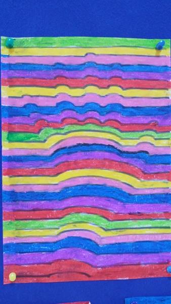 Hand Print Art Activities for child