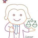 Lawyer coloring pages