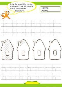 Letter-H-Worksheet-Preschool