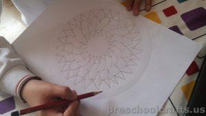 Mandala coloring page ideas