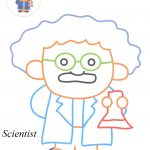 Scientist coloring pages