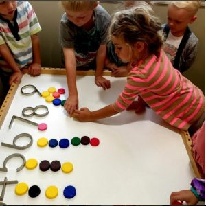 activity related to numbers