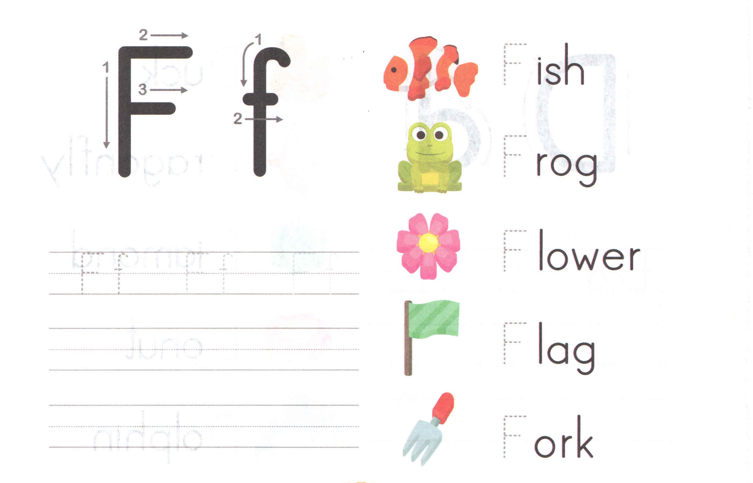 alphabet-capital-and-small-letter-F-f-worksheet-for-kids ...