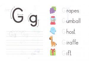 alphabet-capital-and-small-letter-G-g-worksheet-for-kids