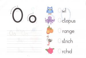 alphabet-capital-and-small-letter-O-o-worksheet-for-kids