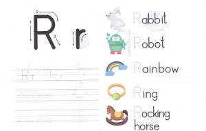 alphabet-capital-and-small-letter-R-r-worksheet-for-kids