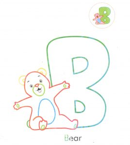 alphabet-letter-b-bear-coloring-page-for-preschool