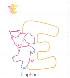 alphabet-letter-e-elephant-coloring-page-for-preschool