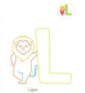 alphabet-letter-l-L-lion-coloring-page-for-preschool