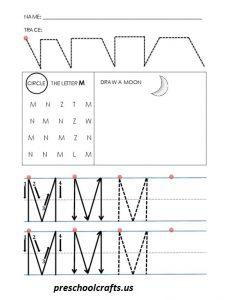 alphabet-letter-m-worksheets