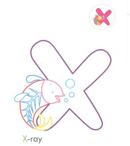 alphabet-letter-x-xray-coloring-page-for-preschool