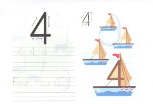four-4-worksheet-for-learning-numbers