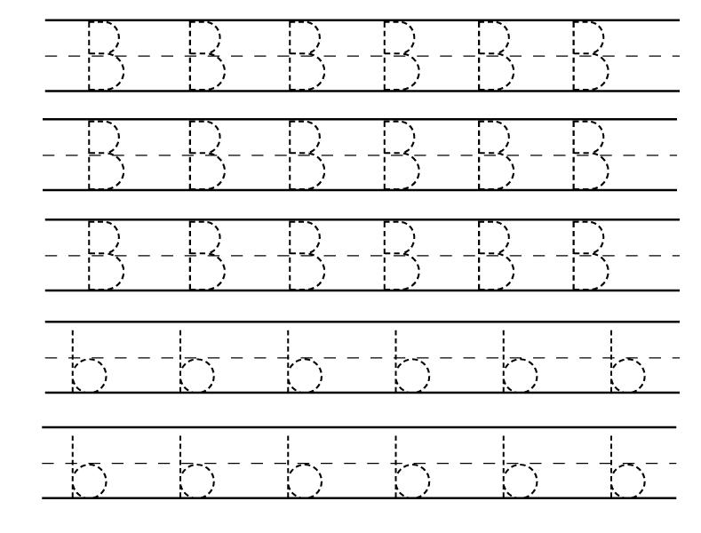 Number Names Worksheets free letter writing worksheets : Number Names Worksheets : free printable letter b worksheets ...
