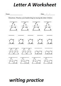 letter-a-worksheet
