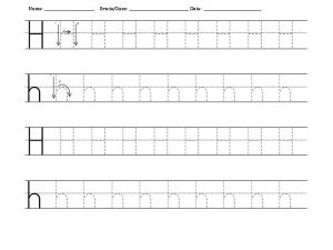 letter_H_tracing_uppercase_and_lowercase