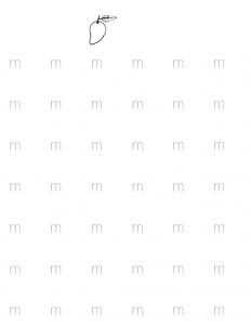 m-tracing-worksheets