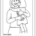 mother's day coloring page for preschool