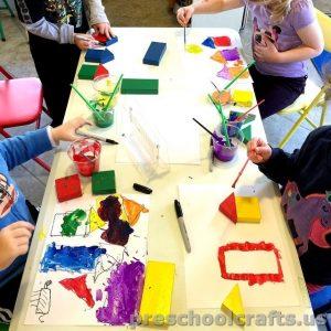 painting activity for preschoolers