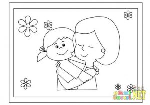 printable mother's day coloring pages for preschool