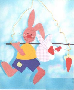 Rabbit Puppet Making for Kids