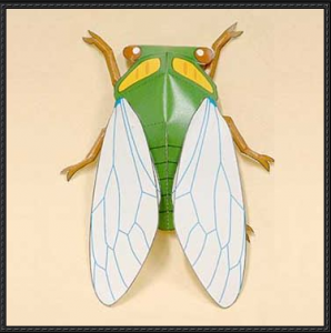 Cicada crafts ideas for kids